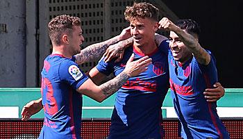 Kampf um die Meisterschaft in La Liga: Daumen drücken für Atletico!