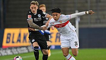 VfB Stuttgart - Arminia Bielefeld: Der DSC gastiert nicht gerne im Ländle