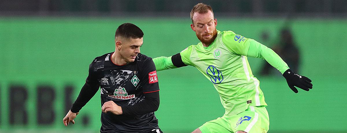 Werder Bremen - VfL Wolfsburg: Tore satt und keine Punkteteilung