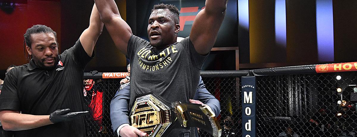 UFC: Die Ranglisten der verschiedenen Gewichtsklassen