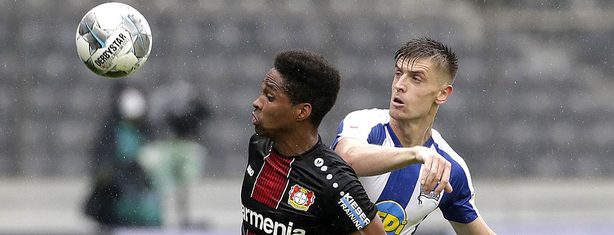 Hertha BSC - Bayer Leverkusen: Druck für beide Teams im Jubiläumsduell