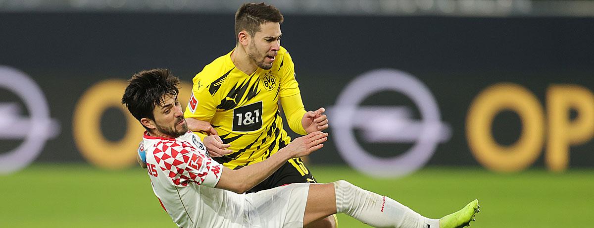 FSV Mainz 05 - BVB: Duell der Serientäter