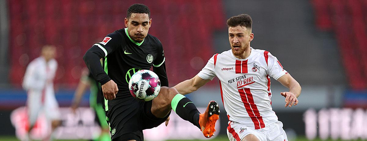 VfL Wolfsburg - 1. FC Köln: Kein Spiel für Auswärtssiege