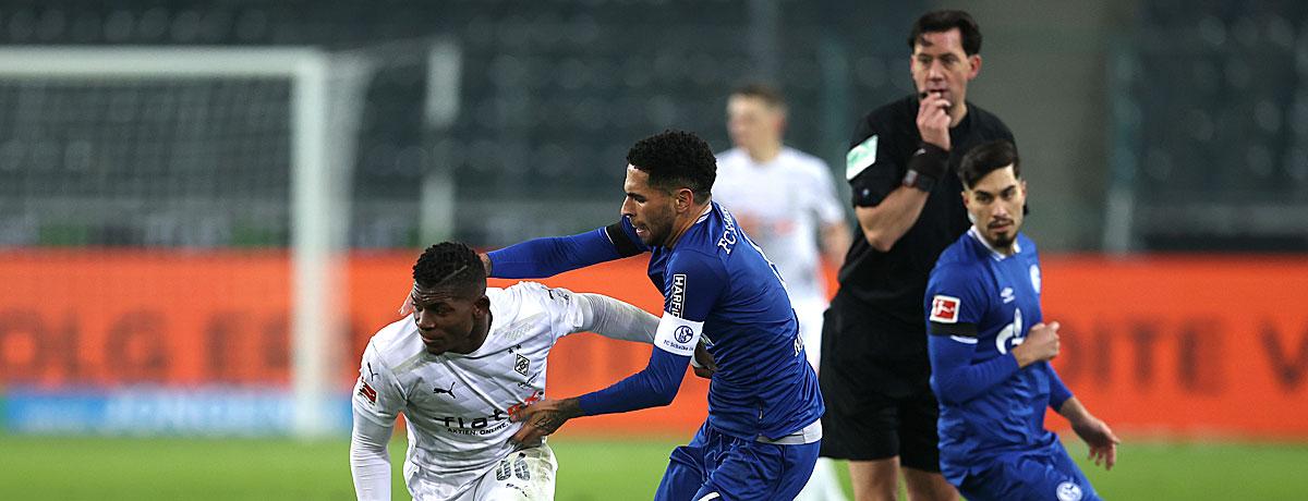 Schalke - Gladbach: Krisen-Teams unter sich