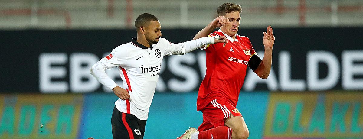Eintracht Frankfurt - Union Berlin: Kräftemessen der Remis-Könige