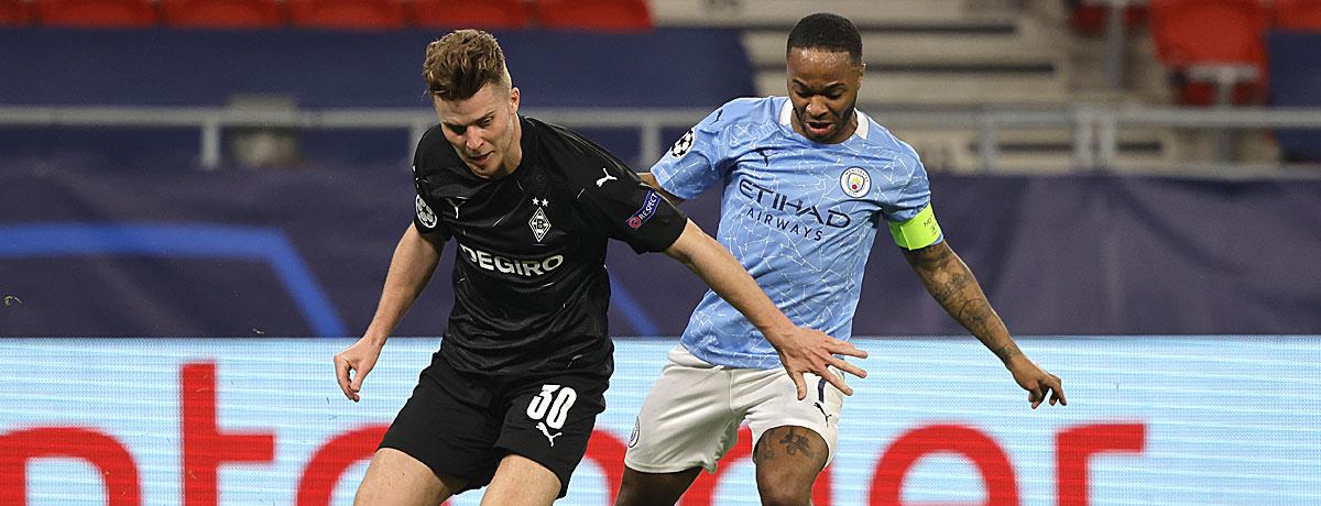 Manchester City - Gladbach: Den Fohlen droht eine Klatsche