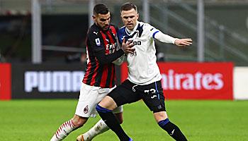 Atalanta - AC Mailand: Rossoneri kämpfen um die Champions League