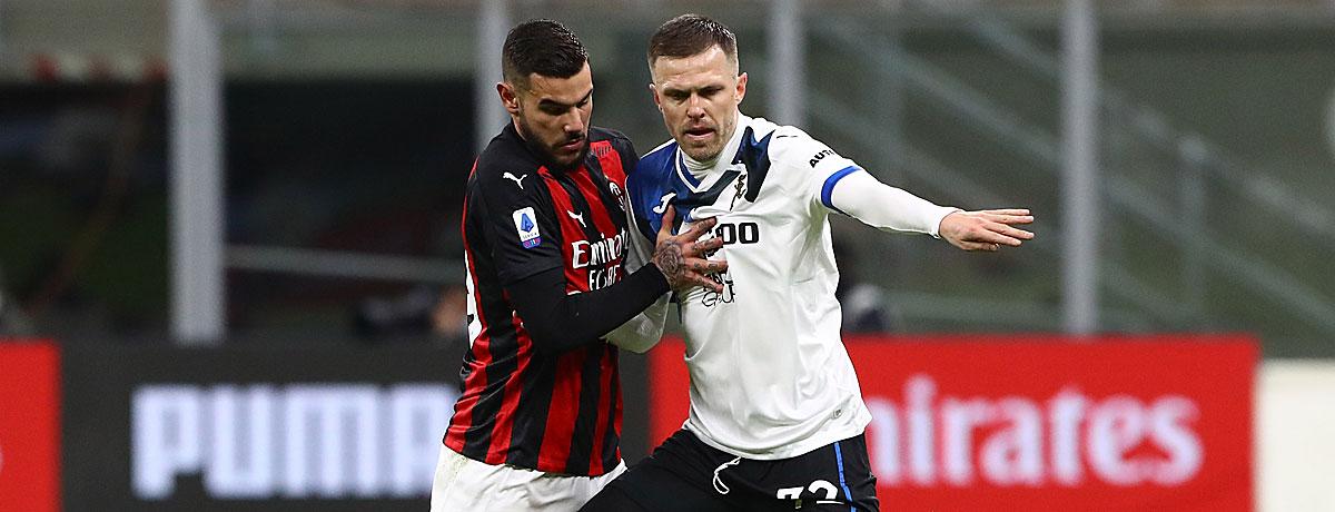 Atalanta - AC Mailand Serie A 2021