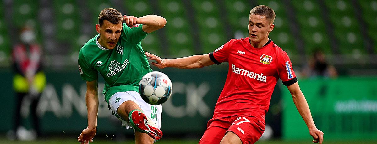 Werder Bremen - Bayer Leverkusen: SVW setzt auf den Wolf-Auswärtsfluch