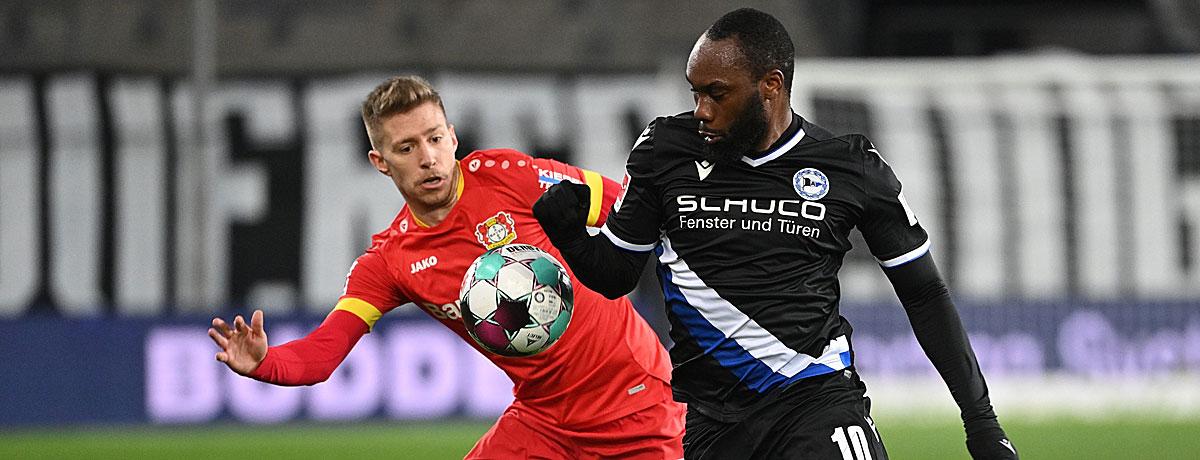 Bayer Leverkusen - Arminia Bielefeld: Jüngste Bilanz macht DSC Mut