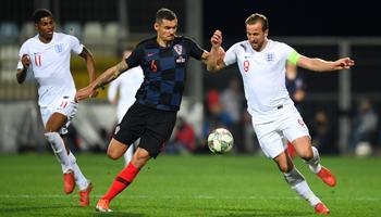 England - Kroatien: Three Lions dürsten nach Revanche und Premiere