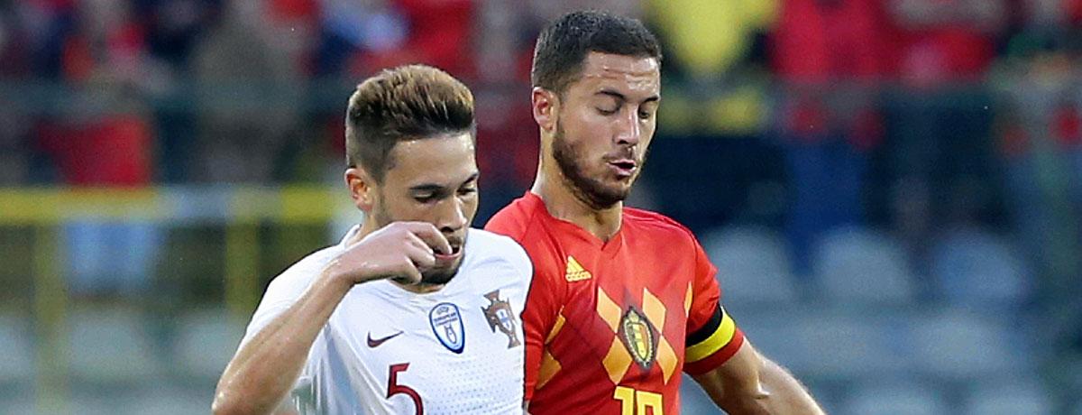 Belgien - Portugal: Ein Favorit muss die Heimreise antreten