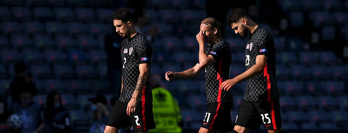 Kroatien - Schottland: Dem Vize-Weltmeister droht das Aus