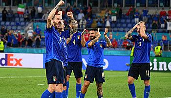 Italien - Wales: Showdown um den Gruppensieg