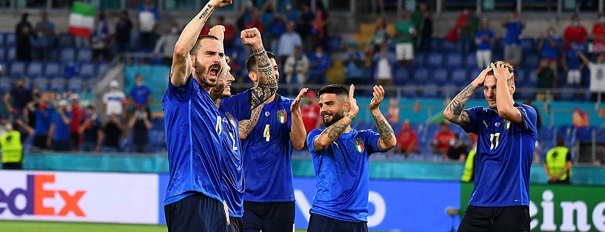 Italien - Wales EM