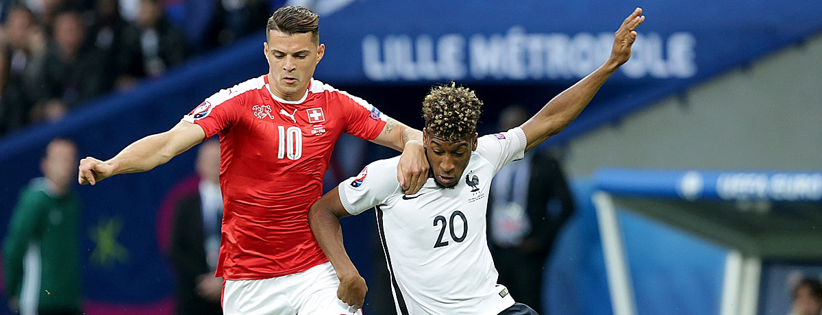 Frankreich - Schweiz EM