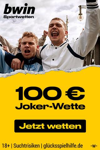 bwin Joker Wette 100 €