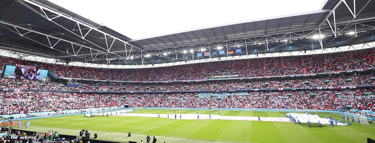England - Dänemark: Three Lions im Bring it Home-Modus