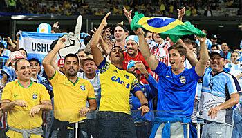 Argentinien - Brasilien: Messi kämpft gegen den Final-Fluch