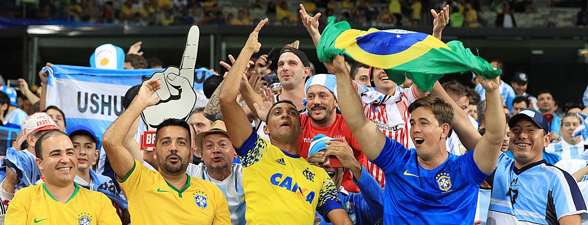 Argentinien - Brasilien Finale Copa America