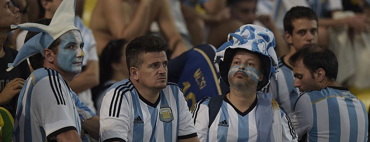 Messi im Argentinien-Trikot: Eine lange Liste voller Turnier-Enttäuschungen