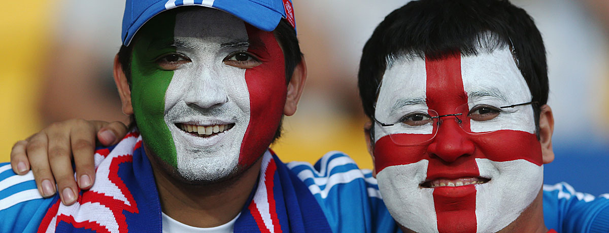 Italien - England EM-Finale