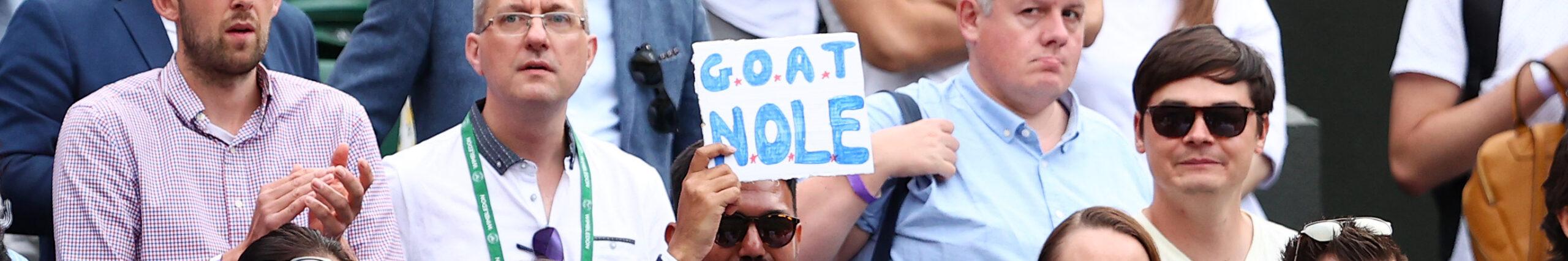 Wimbledon Finale: Nur Schritt 3 von 5 für den Djoker