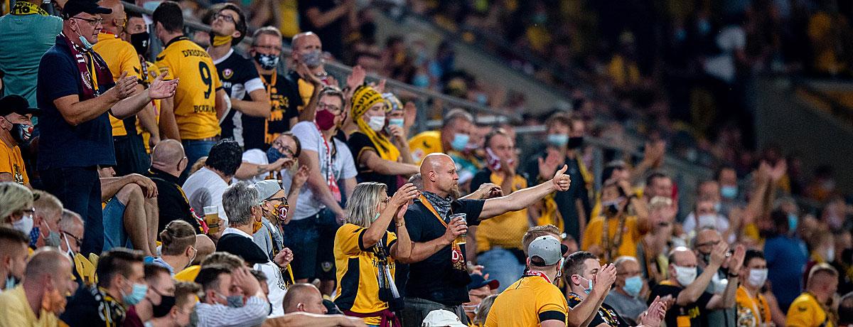 HSV - Dynamo Dresden 2. Bundesliga 2021/22