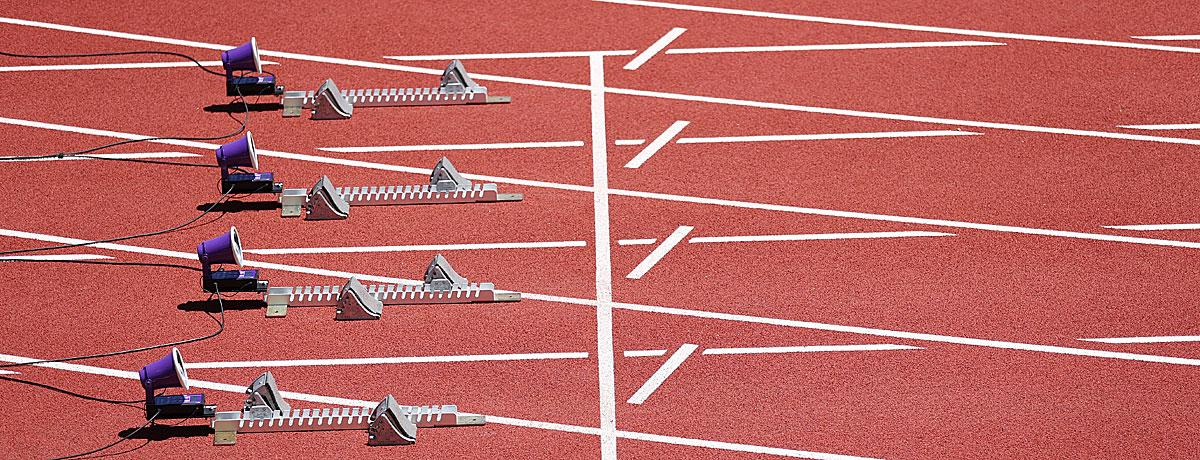 100-Meter-Lauf Olympia