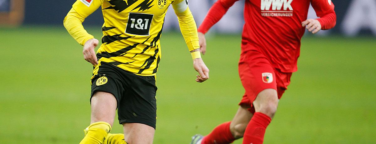BVB - FC Augsburg: Pfllichtaufgabe für das Rose-Team