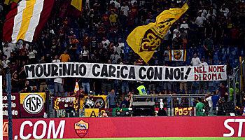 Lazio - AS Rom: Mourinho feiert Derby-Premiere