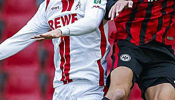 Eintracht Frankfurt - 1. FC Köln: FC könnte Jubiläumssieg feiern