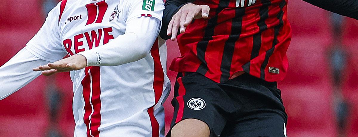 Eintracht Frankfurt - 1. FC Köln Bundesliga 2021