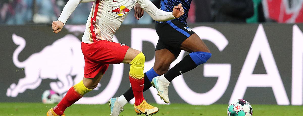 RB Leipzig - Hertha BSC Bundesliga 2021