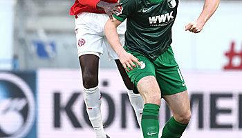 FSV Mainz 05 - FC Augsburg: FCA mit Super-Serie gegen M05