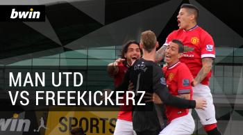 Manchester United vs freekickerz