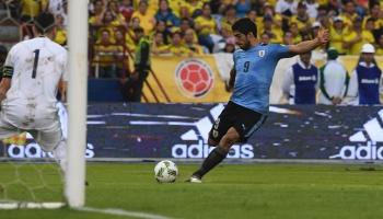 Luis Suárez y su récord goleador con Uruguay (infografía)