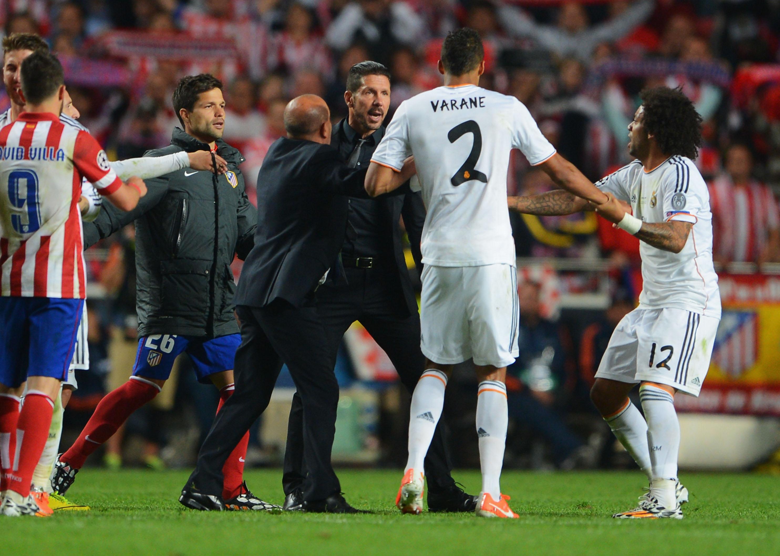 Simeone: Historial contra el Real Madrid   Derbi   bwin