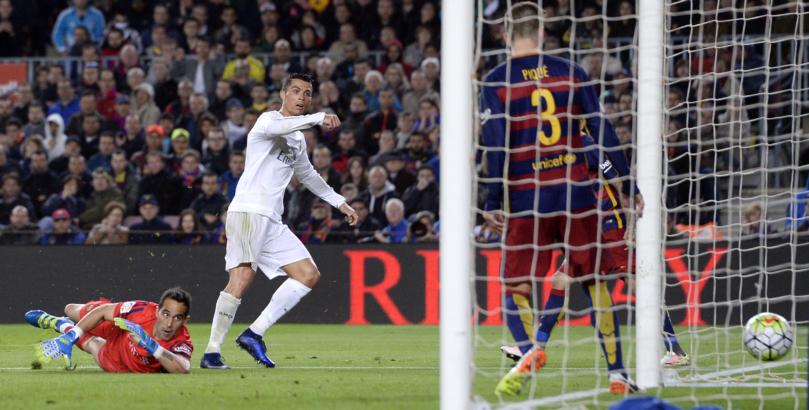 Cristiano Ronaldo ante el Barcelona, Estadísticas y goles | bwin