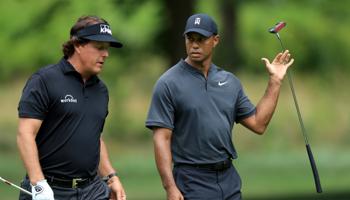 Tiger Woods-Phil Mickelson: una exhibición millonaria y con increíbles desafíos para dos gigantes del golf