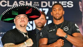 Andy Ruiz Jr. - Anthony Joshua II: tras la sorpresa de junio, este sábado hay revancha