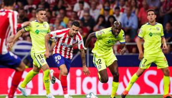 Getafe – Atlético de Madrid, ¡partidazo en la zona alta de la clasificación!