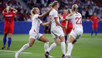 Inglaterra - Suecia: británicas y vikingas chocan por el tercer puesto
