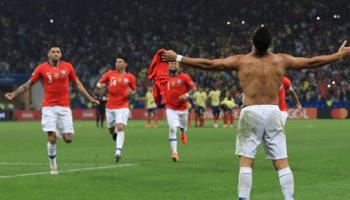 Chile - Perú: la roja quiere meterse en la tercera final consecutiva de laCopa América