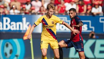 Barcelona-Osasuna, los culés deben ganar y rezar