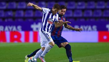Real Valladolid – Levante, duelo sin cuartel para alejarse de la zona de descenso