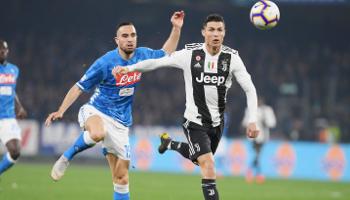 Juventus - Nápoles, el norte y el sur de Italia disputan una nueva edición de uno de los clásicos más emocionantes del fútbol europeo