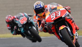 Moto GP, última prueba del año en Valencia, con mucho en juego a pesar de ya tener un campeón