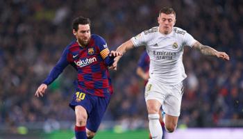 Real Madrid está muy cerca, pero Barcelona lo acecha y no se rinde: ¿quién ganará La Liga 2019/20?