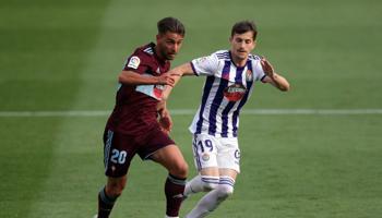 Real Valladolid-Celta, cuotas parejas en un choque donde cualquiera puede ganar